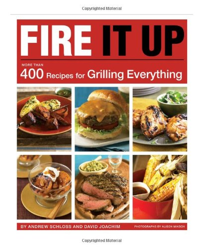 Fire It Up: 400 Recipes for Grilling Everything by Andrew Schloss