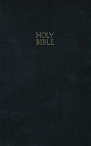 KJV, Gift and Award Bible, Imitation Leather, Black, Red Letter Edition by Thomas Nelson