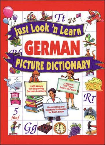 Just Look 'n' Learn German Picture Dictionary by McGraw-Hill