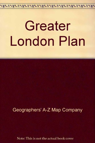 Greater London Plan by Geographers' A-Z Map Company