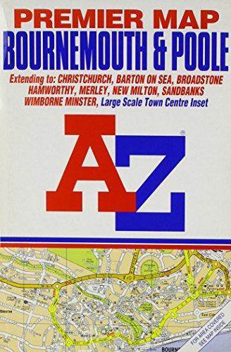 Premier Street Map of Bournemouth by Geographers' A-Z Map Company