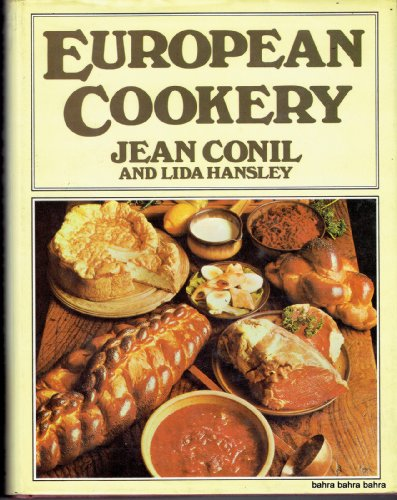 European Cookery by Jean Conil