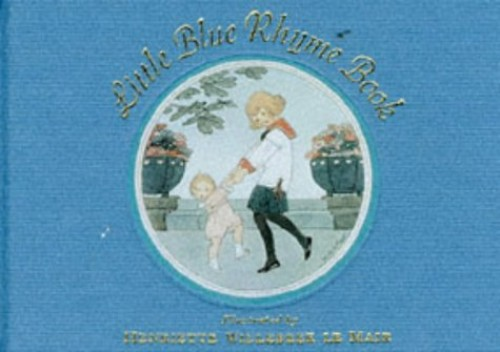 Little Blue Rhyme Book by H. Willebeek le Mair