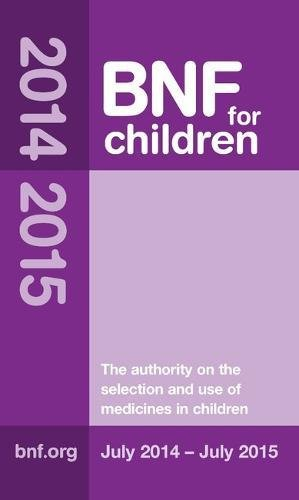 BNF for Children 2014-2015 (BNFC) by Paediatric Formulary Committee