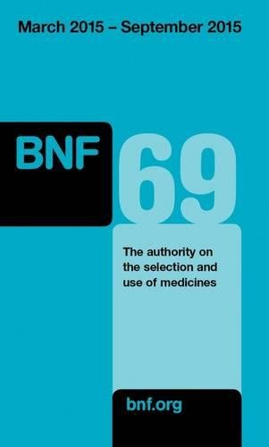 British National Formulary (BNF) by Joint Formulary Committee