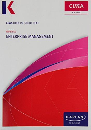 E2 Enterprise Management - Study Text by