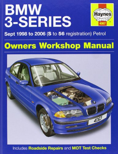BMW 3-Series Petrol Service and Repair Manual: 1998 to 2006 by Martynn Randall
