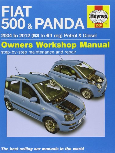 Fiat 500 & Panda Petrol & Diesel Service and Repair Manual: 2004-2012 by Martynn Randall