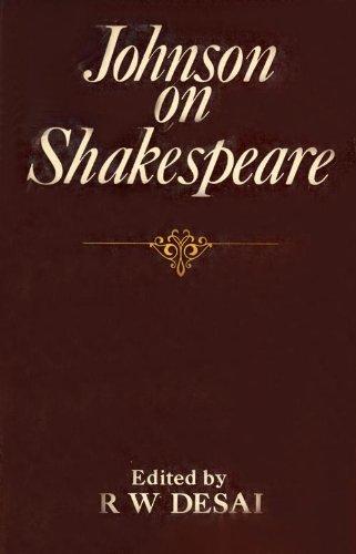 Johnson on Shakespeare