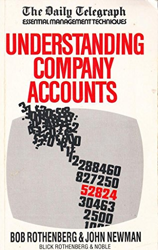 Understanding Company Accounts by Bob Rothenberg