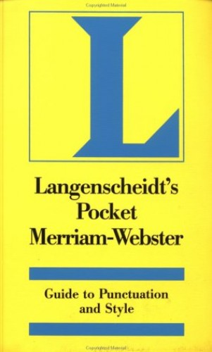 Pocket Guide to Punctuation and Style by Langenscheidt Publishers