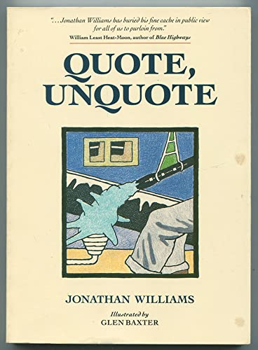 Quote/Unquote by Jonathan Williams