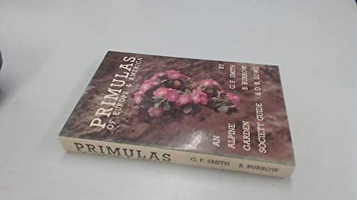 Primulas of Europe and America by G.F. Smith