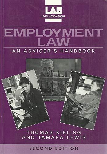 Employment Law: An Adviser's Handbook by Thomas Kibling