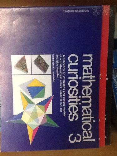 Mathematical Curiosities: Bk. 3 by Gerald Jenkins