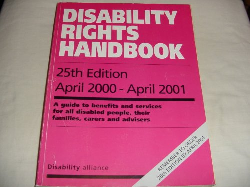 Disability Rights Handbook by
