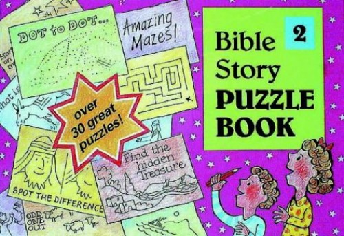 Bible Puzzle Book 2 by