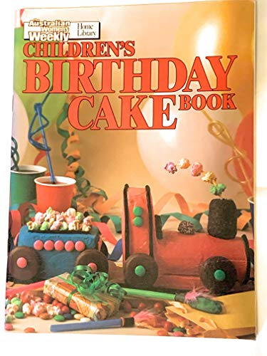 Children's Birthday Cake Book by