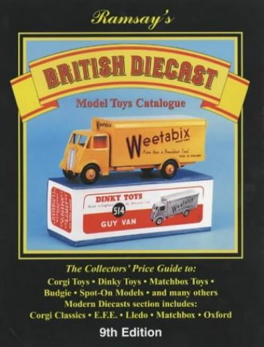 British Diecast Model Toys Catalogue by John Ramsay