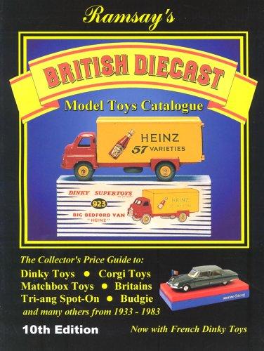 British Diecast Model Toys Catalogue by John Ramsey