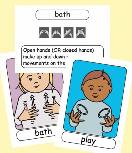 Let's Sign BSL Flashcards: Early Years and Baby Signs (British Sign Language) by Cath Smith