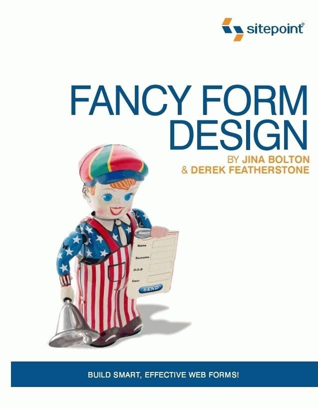 Fancy Form Design by Jina Bolton