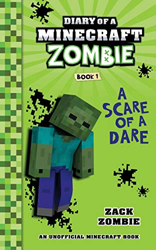 Diary of a Minecraft Zombie Book 1: A Scare of a Dare by Herobrine Publishing
