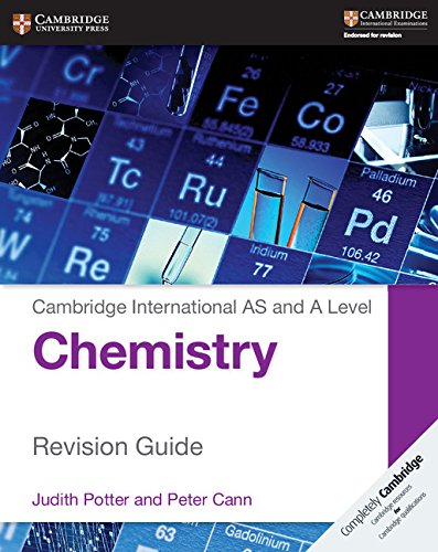 Cambridge International as and A Level Chemistry Revision Guide by Judith Potter