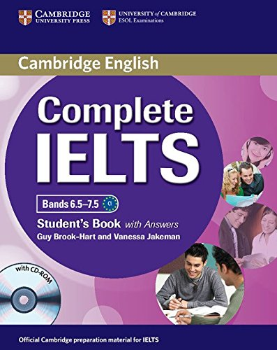 Complete IELTS Bands 6.5-7.5 Student's Book with Answers with CD-ROM by Guy Brook-Hart