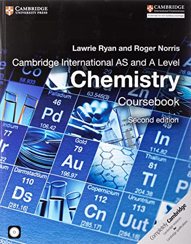 Cambridge International AS and A Level Chemistry Coursebook with CD-ROM by Lawrie Ryan