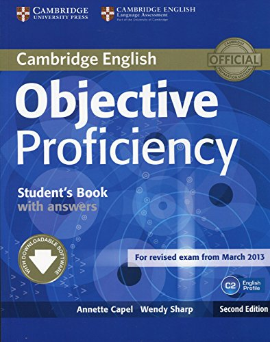 Objective Proficiency Student's Book with Answers with Downloadable Software by Annette Capel