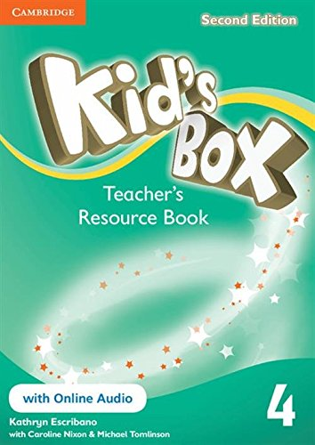Kid's Box Level 4 Teacher's Resource Book with Online Audio by Kathryn Escribano