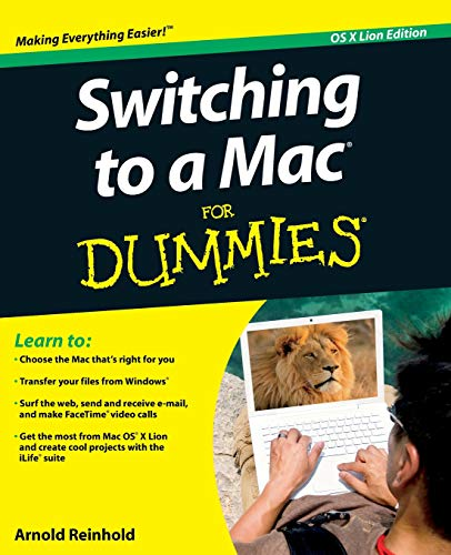 Switching to a Mac For Dummies by Arnold Reinhold