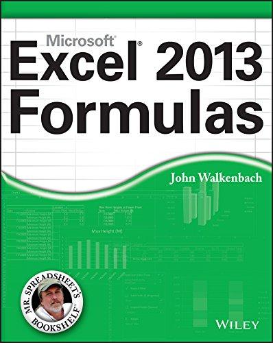 Excel 2013 Formulas by John Walkenbach