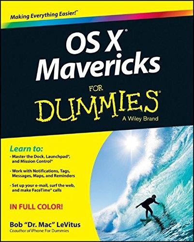 OS X Mavericks For Dummies by Bob LeVitus
