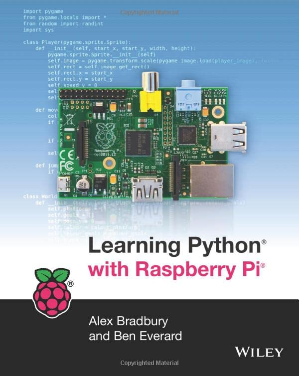 Learning Python with Raspberry Pi by Alex Bradbury
