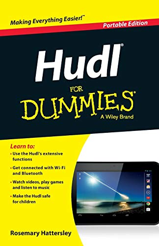 Hudl for Dummies by Rosemary Hattersley