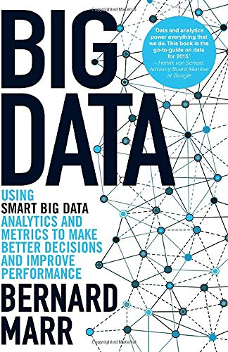 Big Data: Using Smart Big Data, Analytics and Metrics to Make Better Decisions and Improve Performance by Bernard B. Marr