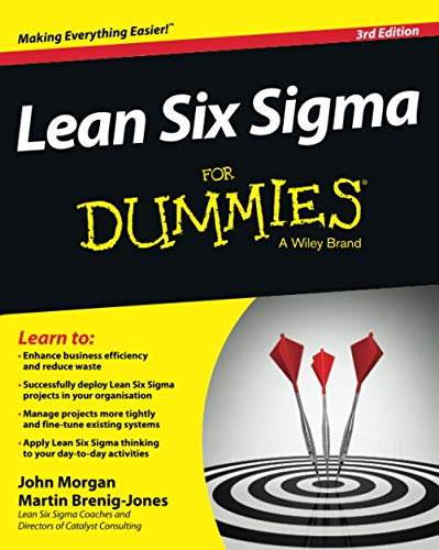 Lean Six Sigma For Dummies by John Morgan