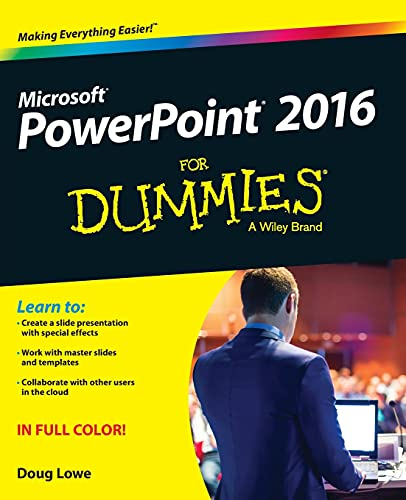 Powerpoint 2016 For Dummies by Doug Lowe