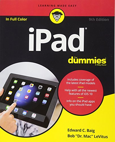 Ipad for Dummies, 9th Edition by Edward C. Baig