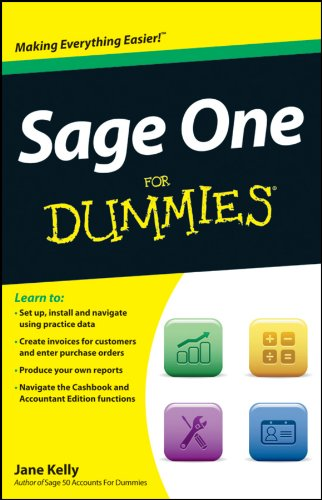 Sage One For Dummies by Jane Kelly