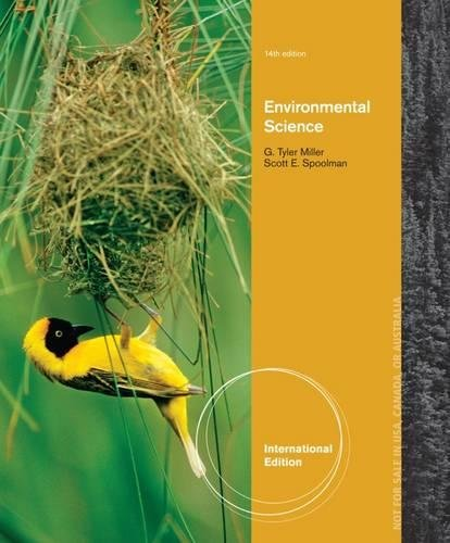 Environmental Science by G. Tyler Miller