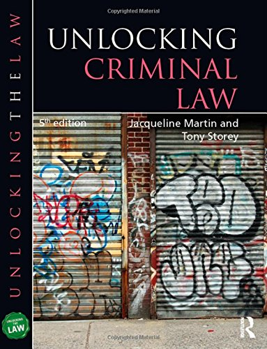 Unlocking Criminal Law by Jacqueline Martin