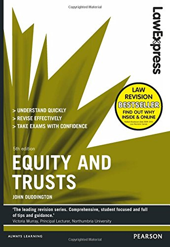 Law Express: Equity and Trusts by John Duddington
