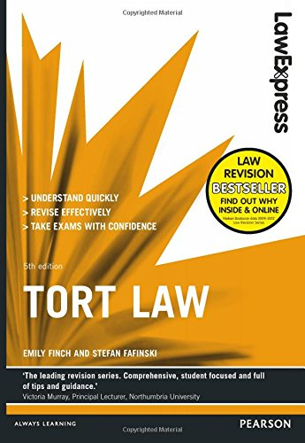 Law Express: Tort Law by Emily Finch