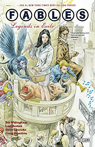 Fables: Volume 1: Legends in Exile by Bill Willingham