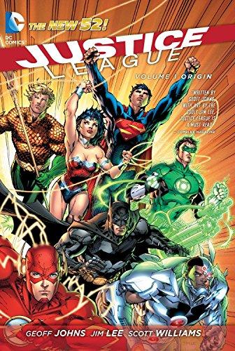 Justice League: Volume 1: Origin by Jim Lee