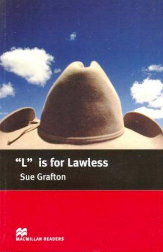 """""""L"""" is for Lawless - Intermediate by Sue Grafton"""