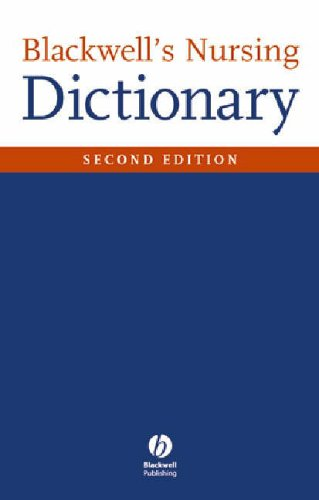 Blackwell's Nursing Dictionary by Dawn Freshwater